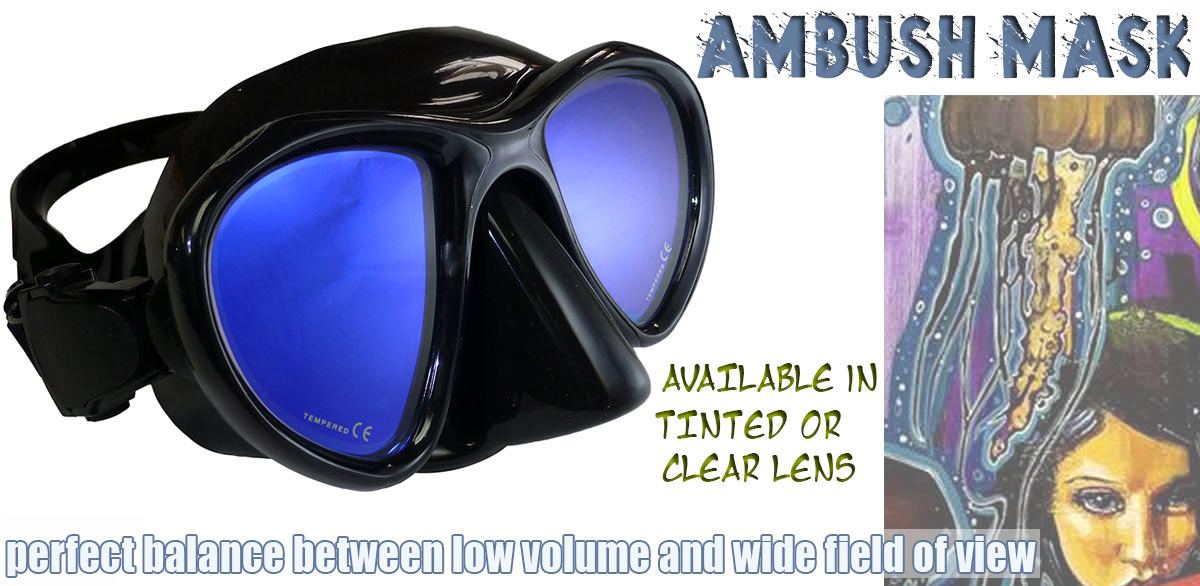Neptonics Ambush Freedive Mask