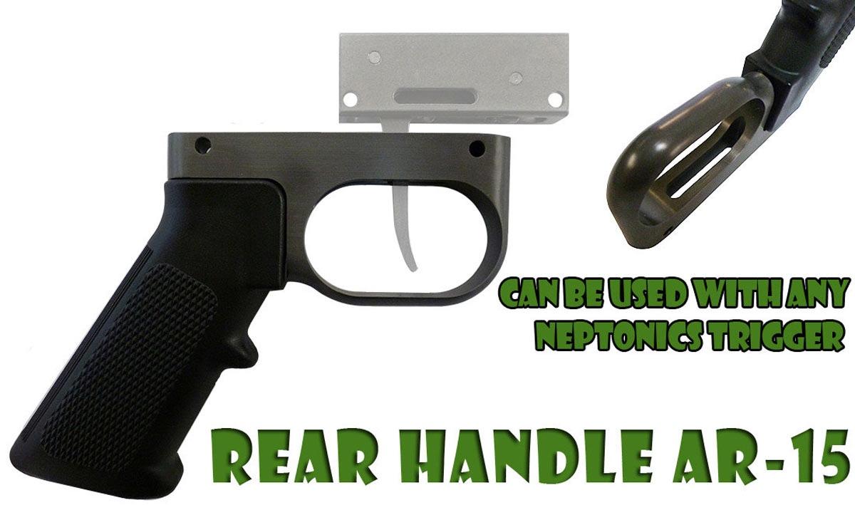 Rear Ar15 Speargun Handle 1 1